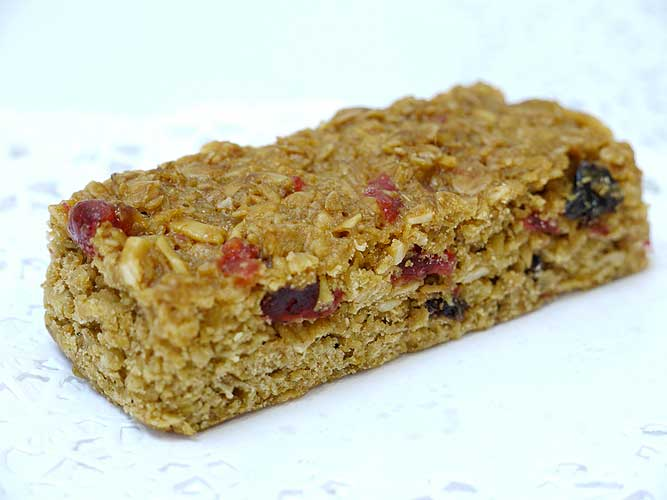 fruit and nut flapjack