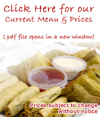 click for finger buffet menu