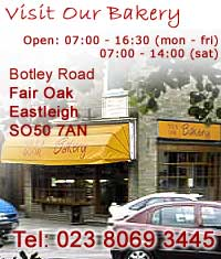 the oven door bakery ltd, unit 4 botley road, fair oak, SO50 7AN